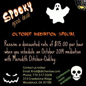 October Mediation Special 2014- FINAL